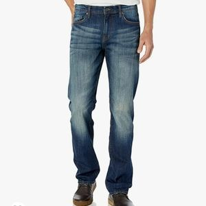 ❤WILLIAM RAST LEGACY RELAXED STRAIGHT JEANS, 33